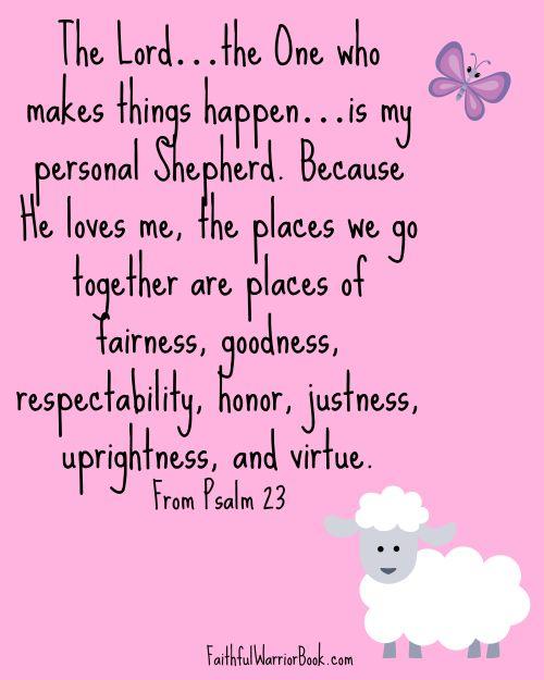 FaithfulWarrior #CancerSupport #Psalm23 #Scripture #Prayers