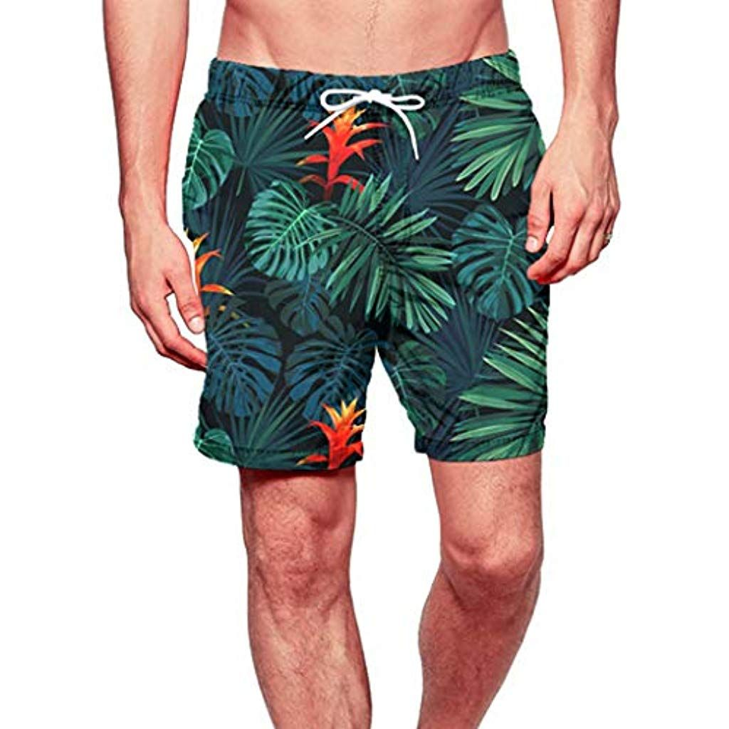 Board Shorts Bermuda Masculino 2019 Short Masculino Printed Swimming Trousers In Spring And Summer Beach Surfing Shorts Homme