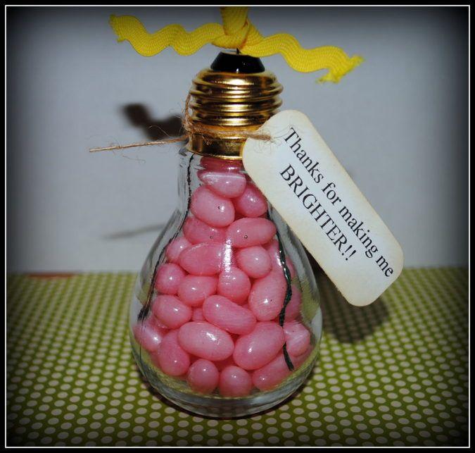 12 Bright Ideas For Light Bulb Jar Gifts Diy Teacher Gifts Teacher Thank You Student Teacher Gifts