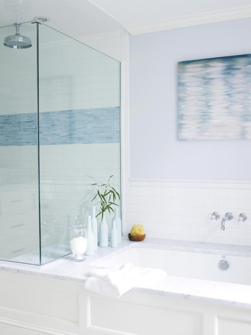 Cool Ways to Beach Up Your House   Hgtv magazine, Hgtv and White shower