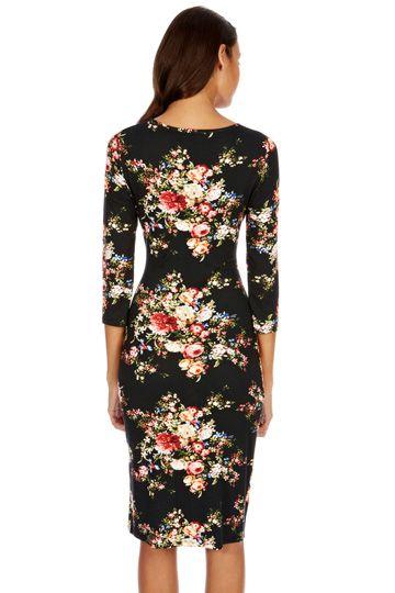 22d8ddbe92ad Oasis flower dress | Style | Dresses, Flower dresses, Dresses for work