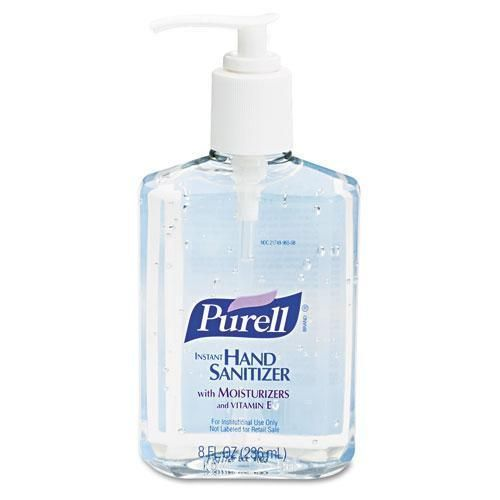 Gojo Purell 8 Oz Pump Bottle Instant Hand Sanitizer Products