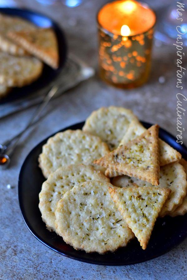 Crackers apéritif maison | Recette | Gateau apéro maison, Recettes de cuisine et Recette crackers