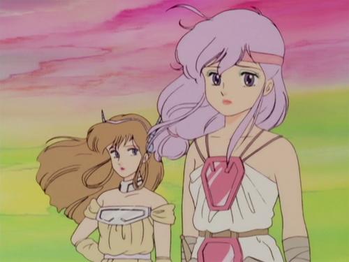 creamy mami brown and lilac hairs Magical girl anime, 90