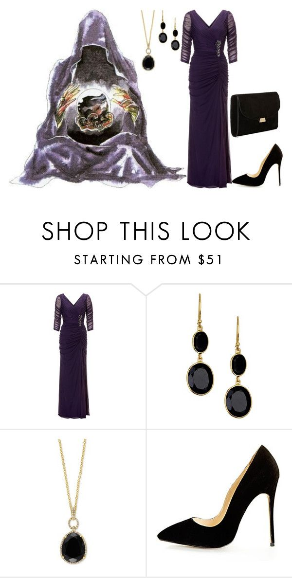 """Pretty Soldier Sailor Moon R: Wiseman"" by becka-ramey on Polyvore featuring Adrianna Papell, Argento Vivo, Effy Jewelry and Mansur Gavriel"