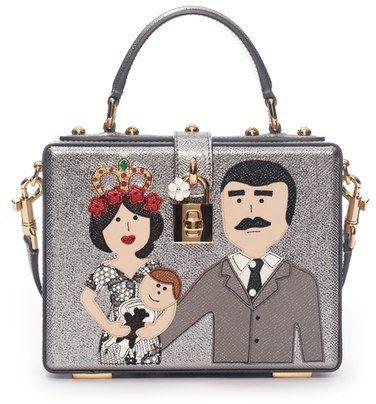 Dolce Gabbana  Patch Family  Box Bag  DolceGabbana  DG  handbags   designerhandbags  purse  clutch  designerbags bitinformed.com 5c62b72fab
