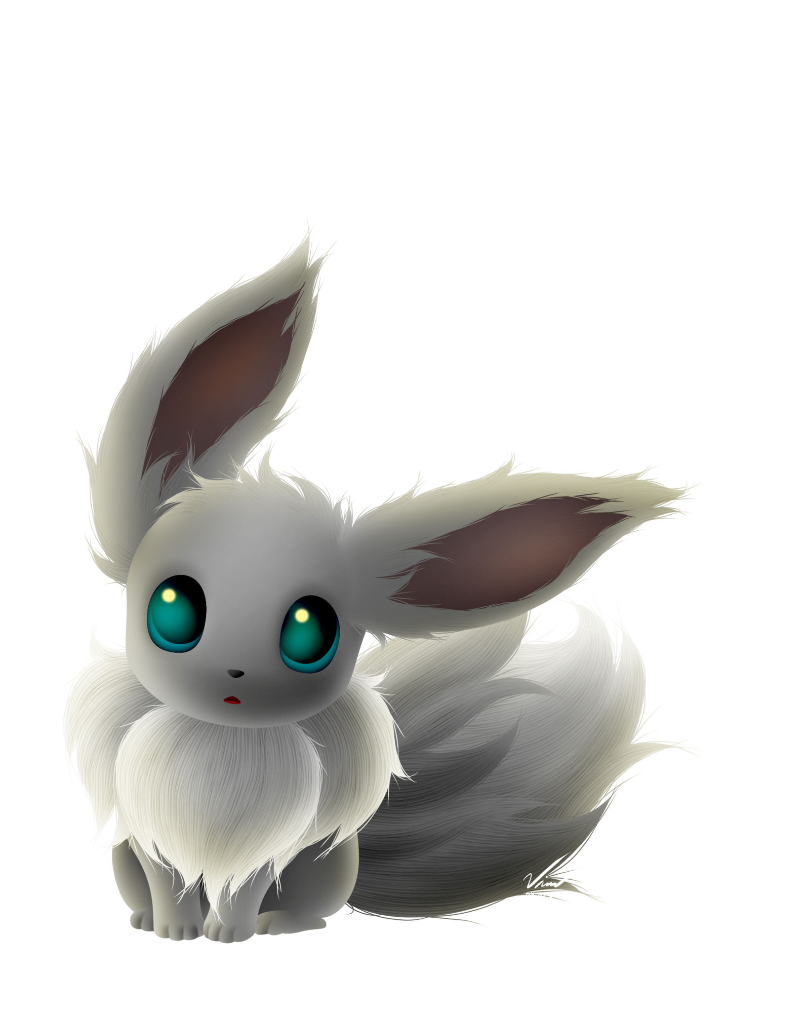 shiny eevee wallpaper sharovarka Pinterest