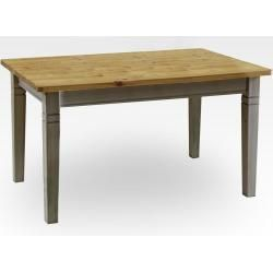 Photo of Carryhome extending table rectangular white, 70×76.5×120 (160) cm …