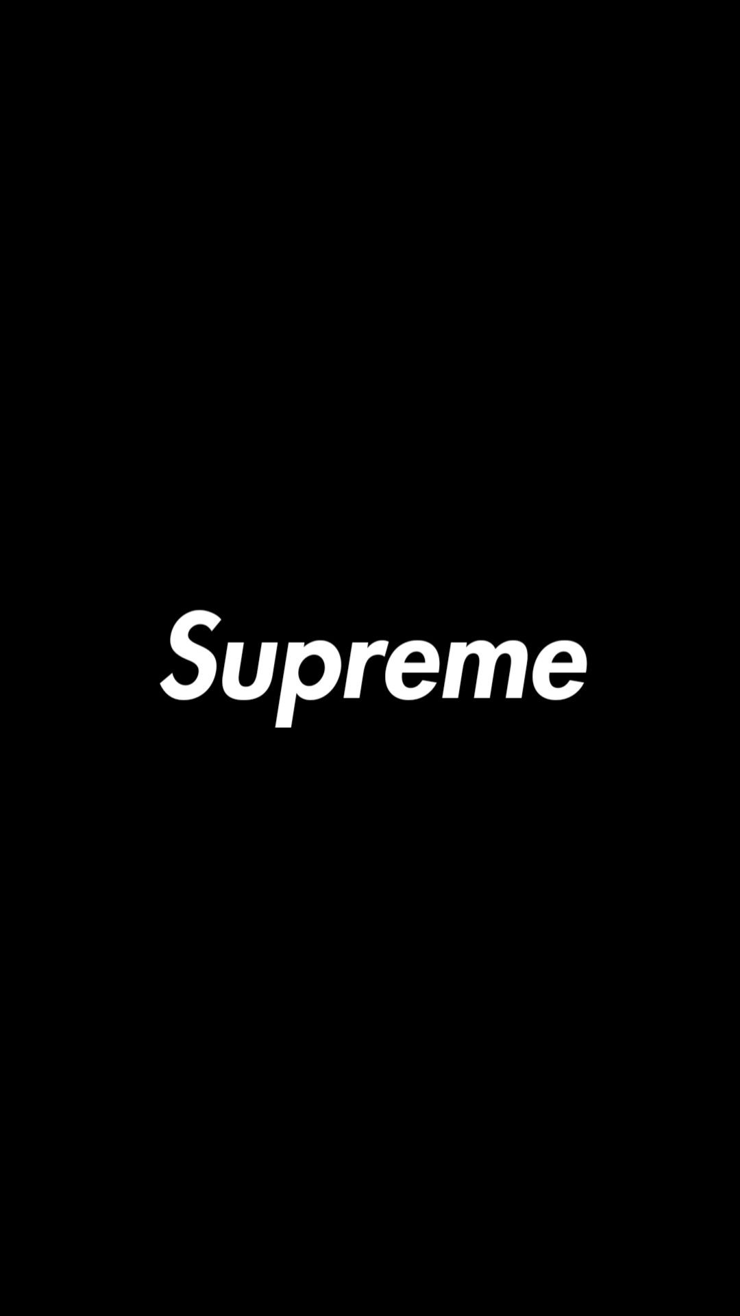Supreme logo wallpaper Supreme iphone wallpaper, Supreme