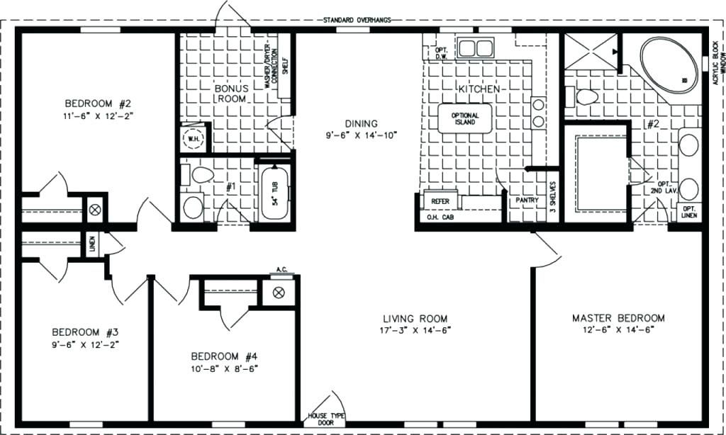 1500 Sq Ft House Plans Sq Ft Ranch House Plans House Plan Sq Ft House Plans Sq Ft House Manufactured Homes Floor Plans 4 Bedroom House Plans Metal House Plans