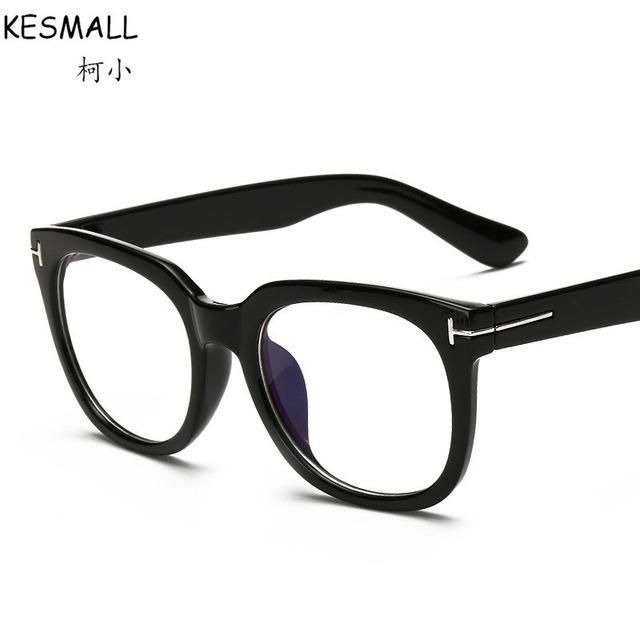 3dcf882a17 2017 Optical Glasses Frame Women Men Vintage Glasses Frames Brand Design  Woman Fashion Eyeglasses Frame Male Oculos De Grau RB93