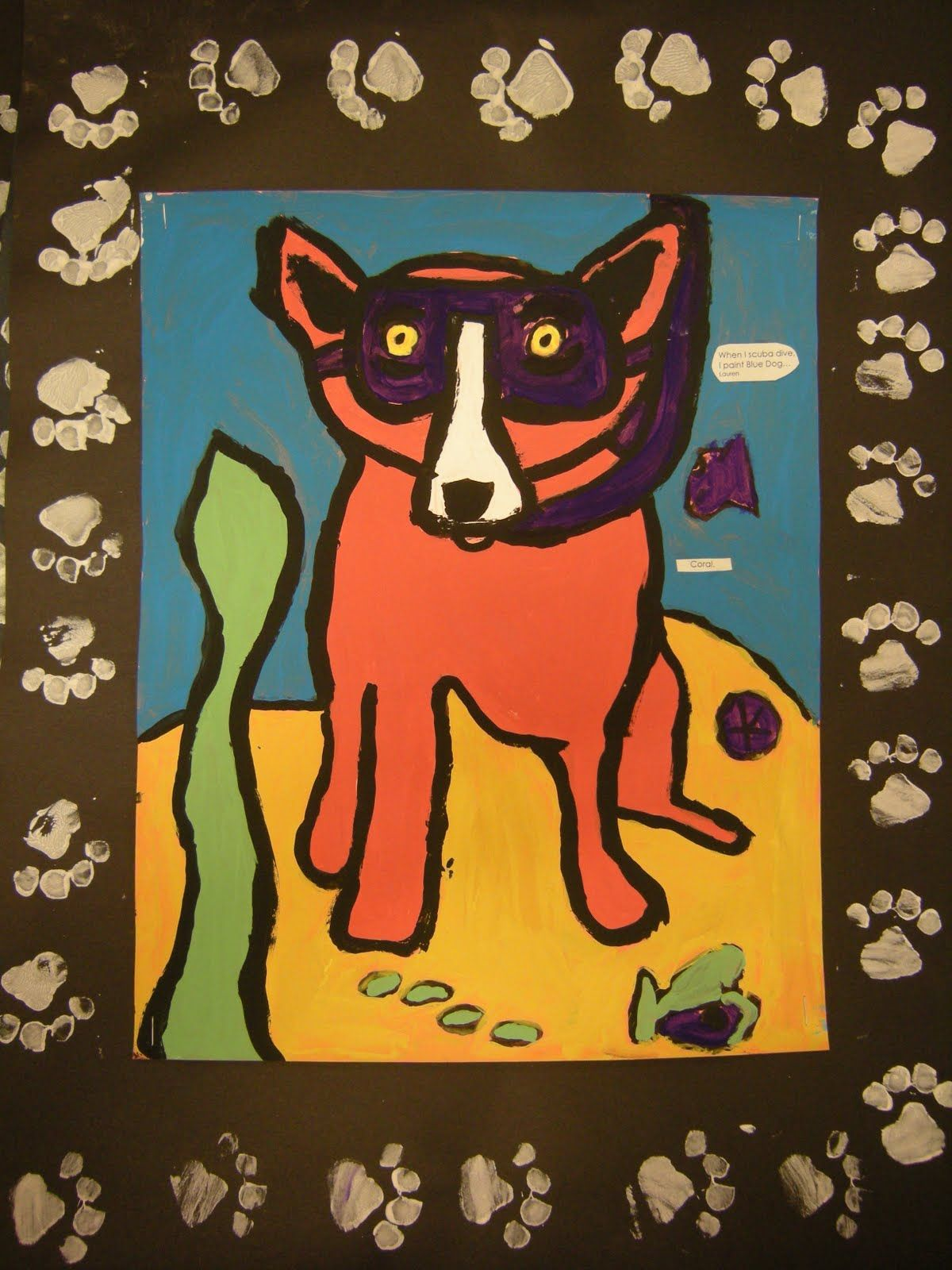 love the border, George Rodrigue