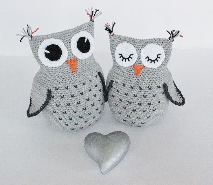 Adorable Owl Amigurumi Free Crochet Pattern | 642x736