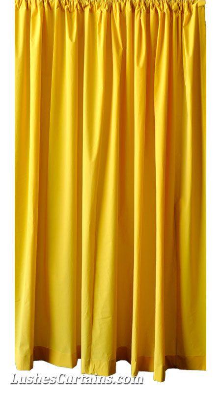 custom yellow velvet 108 inch curtain long panel extra. Black Bedroom Furniture Sets. Home Design Ideas