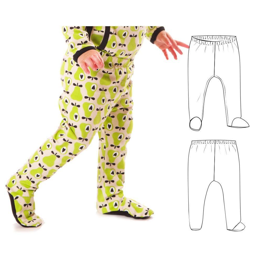 Footie leggings : 8 | Sew What Baby Bonus | Pinterest