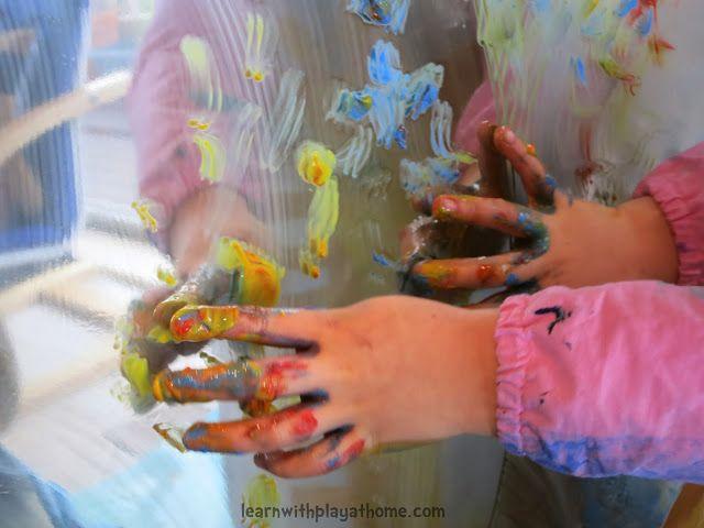 Pintar un espejo con temperas un divertido juego para for Espejo retrovisor para ninos