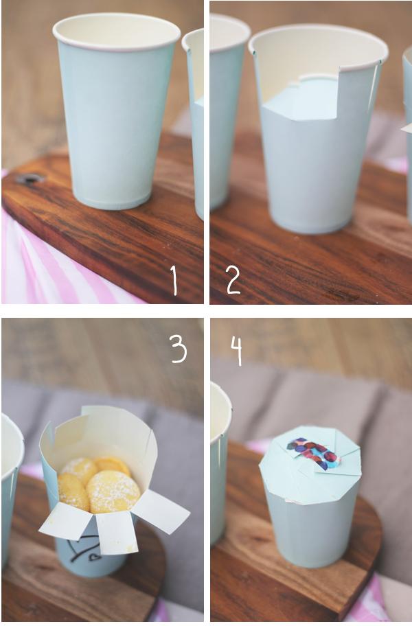 Pappbecher Verpackung Für Kekse Cupcakes Uä Das