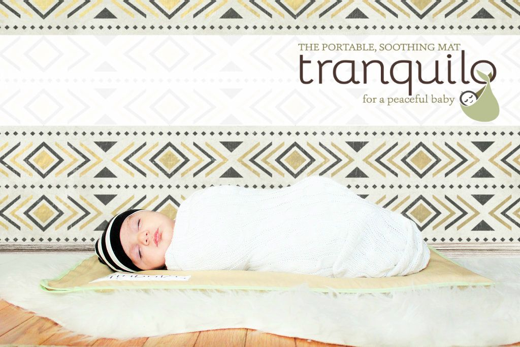 Tranquilo Mat Is A Portable Vibrating Baby Mat That