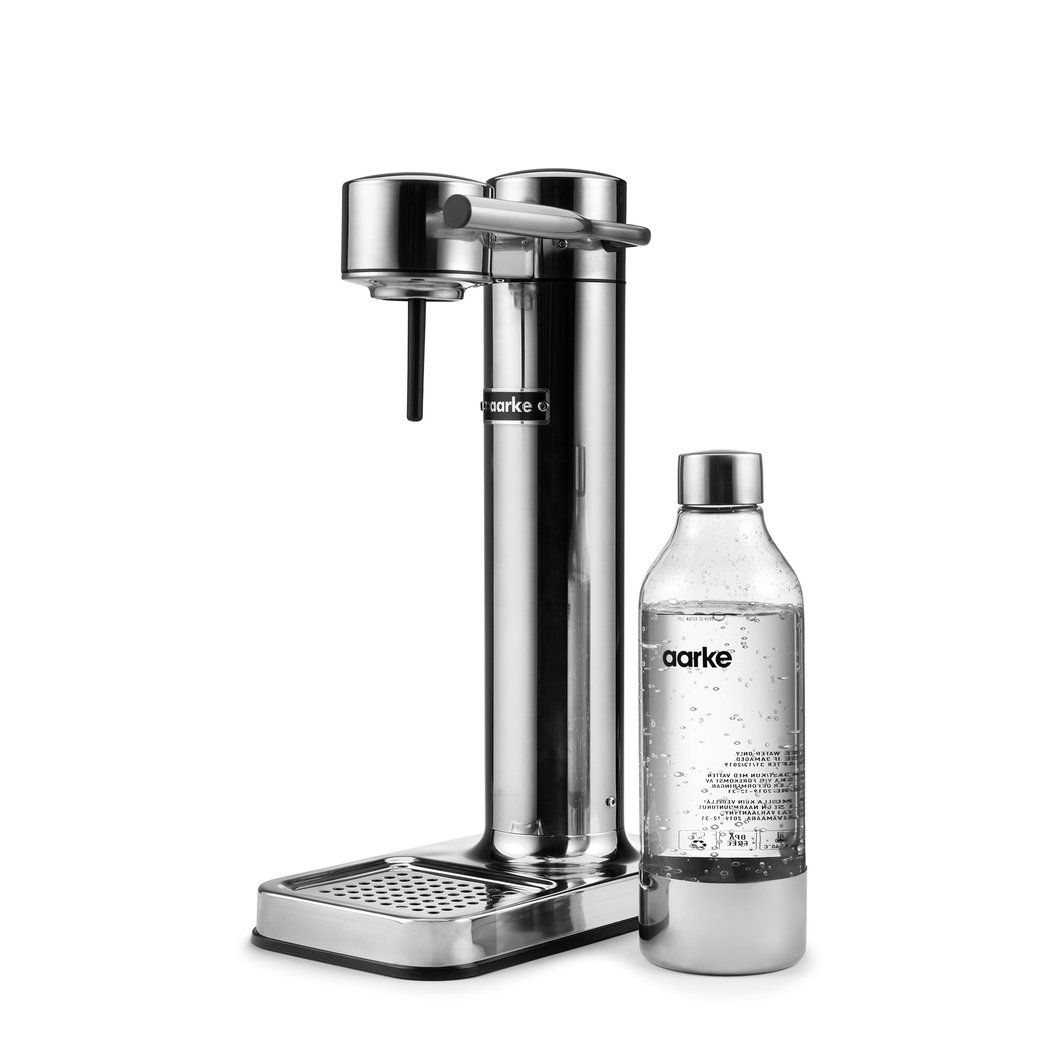 Aarke carbonator ii stainless steel in 2020 soda