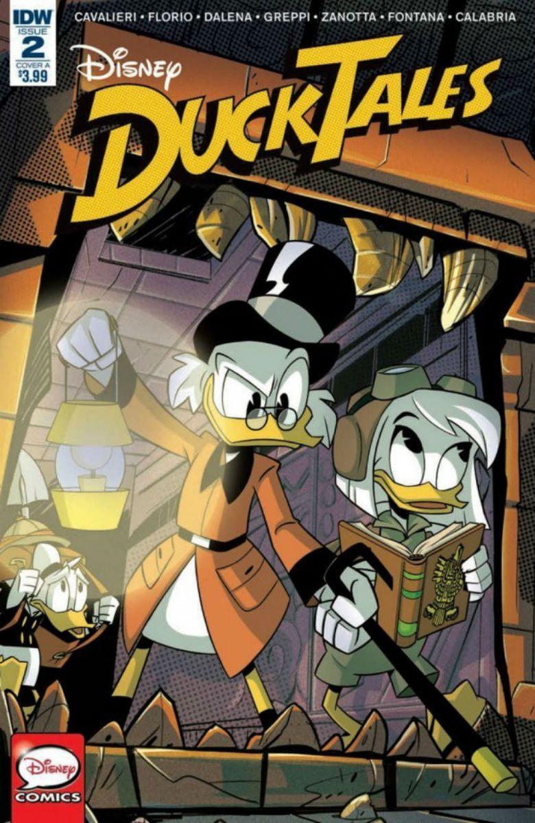 COMIC BOOK Disneys DuckTales 2 Vol IV PUBLISHER IDW Publishing WRITERS Joey Cavaleri ARTIST Antonello Dalena COVER Marco Ghiglione