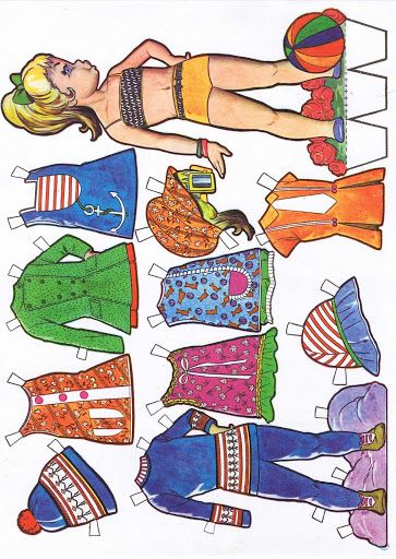 muñecas recortables - Carmen m. p, - Picasa Web Albums
