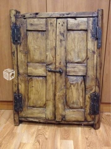 Foto de ventana antigua ideas for the house pinterest for Puertas y ventanas de madera rusticas