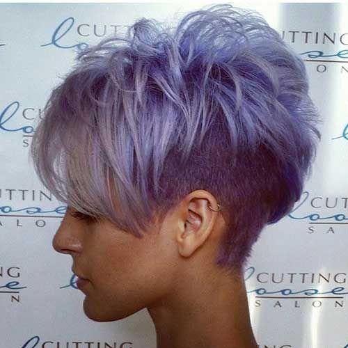 Großartig! Außergewöhnliche Frisuren Mit Außergewöhnlichen Farben
