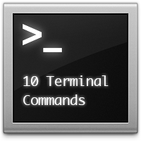 10 Terminal Commands That Every Mac User Should Know (via a href=http://mac.tutsplus.com/tutorials/terminal/10-terminal-commands-that-every-mac-user-should-know/mac.tutsplus.com/a)
