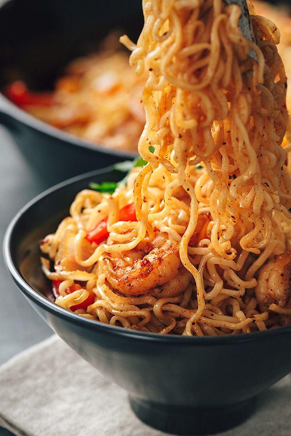 Sizzling Shrimp Fajita Stir-Fry with an Asian Fusion Sauce