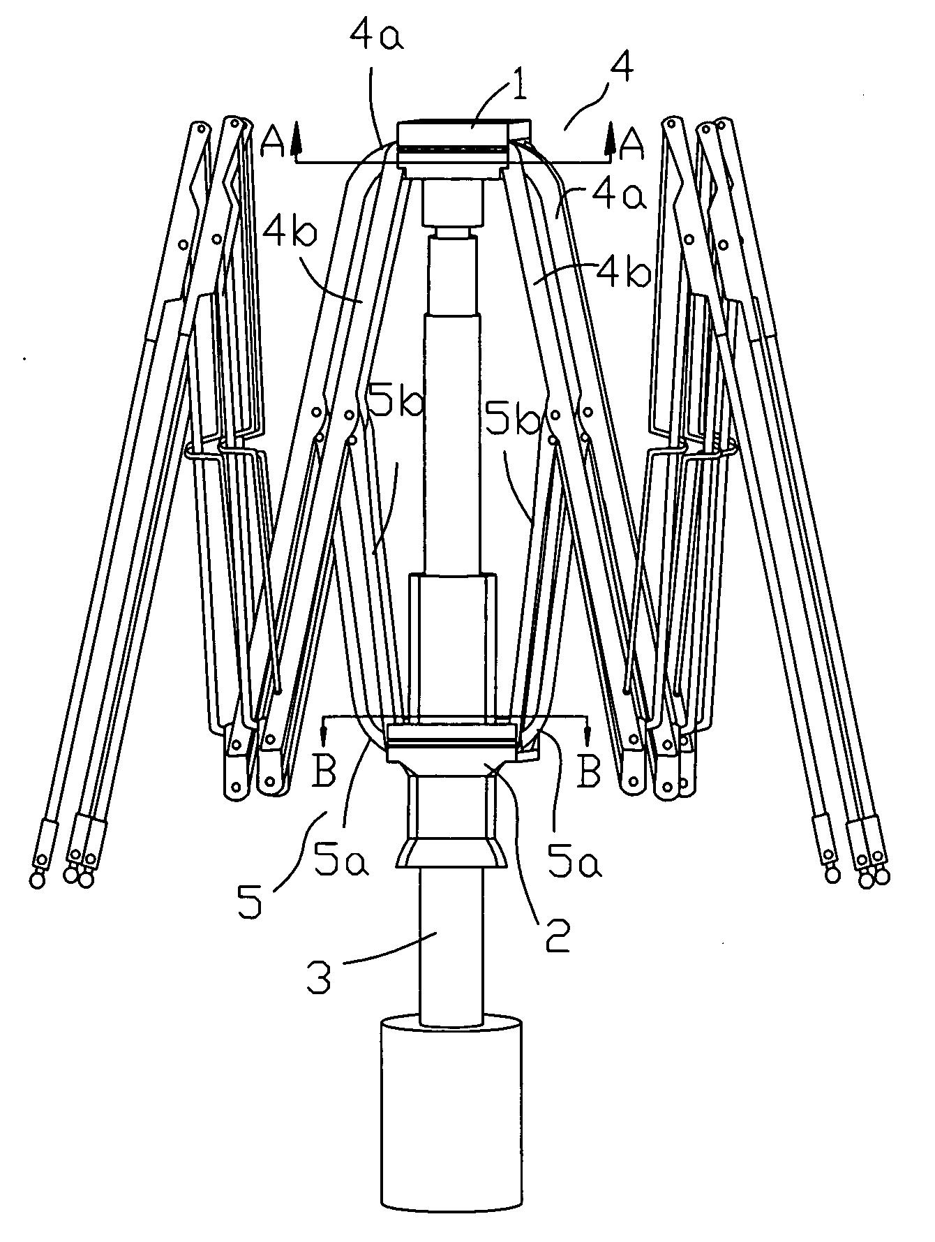 Working Of Umbrella Structure