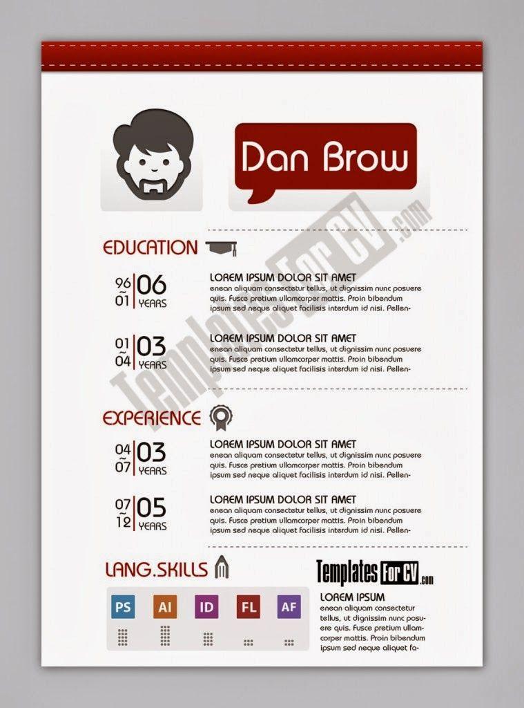 Contoh Cv Format Word Free Download Template Cv Kreatif 30 Desain Brosur Flyer Template Download Gratisayuprintcoid Desain C Cv Kreatif Desain Cv Desain Brosur