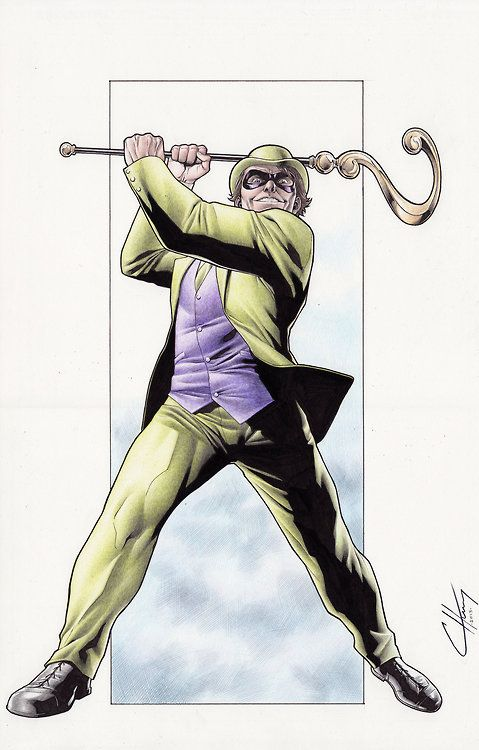 all-about-villains:  The Riddler : by Clayton Henry