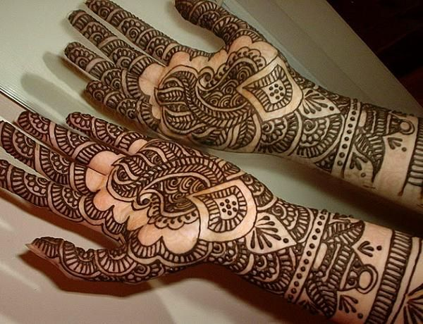 Mehndi Designs For Hands New Updates : Simple arabic mehndi designs for hands