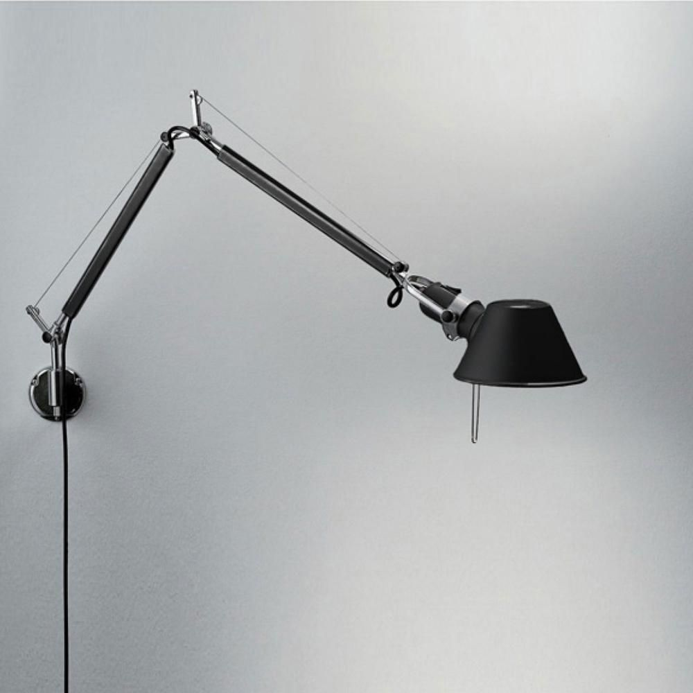 Tolomeo Led Mini Desk Lamp With Clamp By Artemide Tol0059 Desk Lamp Lamp Led Table Lamp