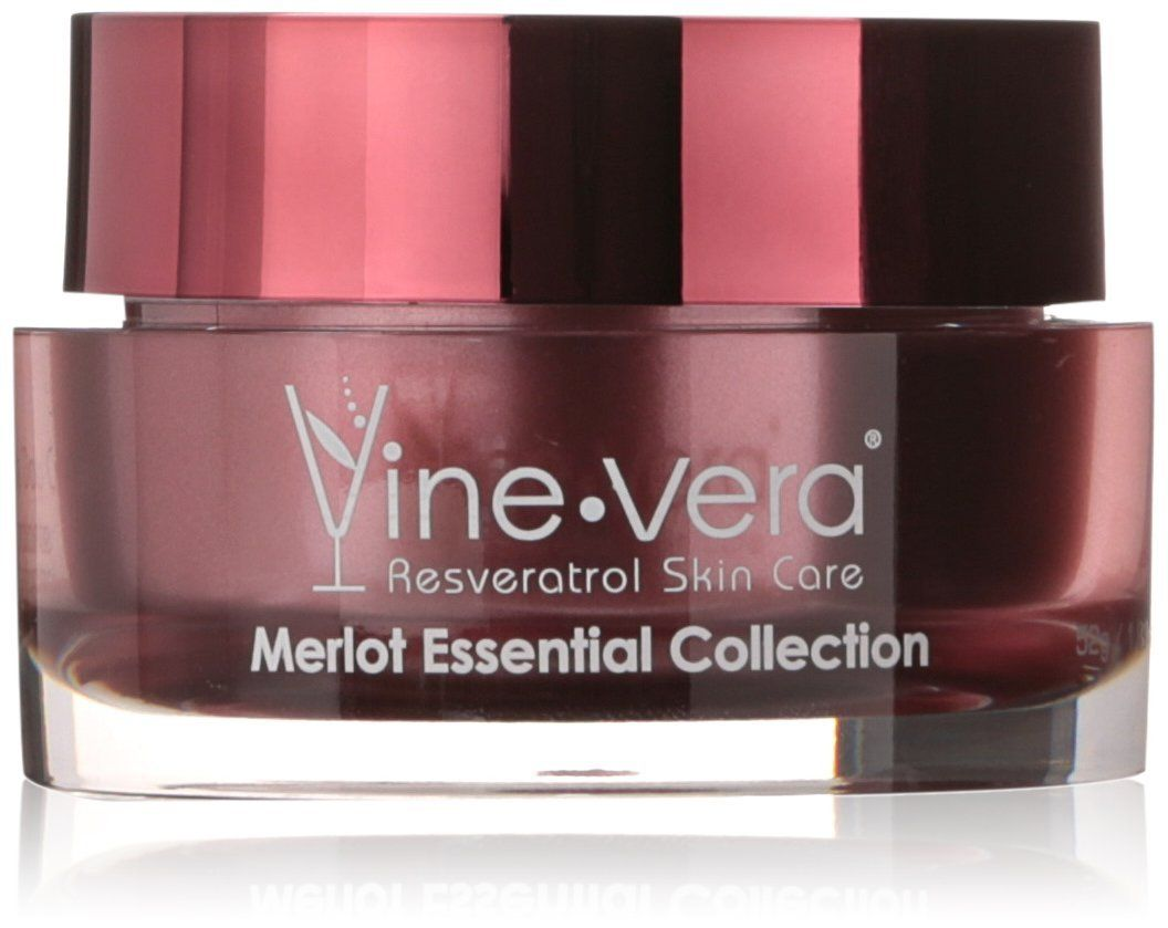 Vine Vera Resveratrol Merlot Moisture Day Cream 50ml 1 76oz This Is An Amazon Affiliate Link Visi Vine Vera Resveratrol Moisturizer Face Products Skincare