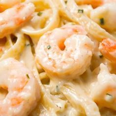 Fettuccine Alfredo with Shrimp is a delicious seafood pasta recipe with a creamy garlic parmesan sauce. #garlicparmesanshrimp Fettuccine Alfredo with Shrimp is a delicious seafood pasta recipe with a creamy garlic parmesan sauce. #garlicparmesanshrimp