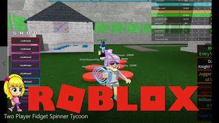 Roblox Two Player Fidget Spinner Tycoon Gameplay Roblox Fidget