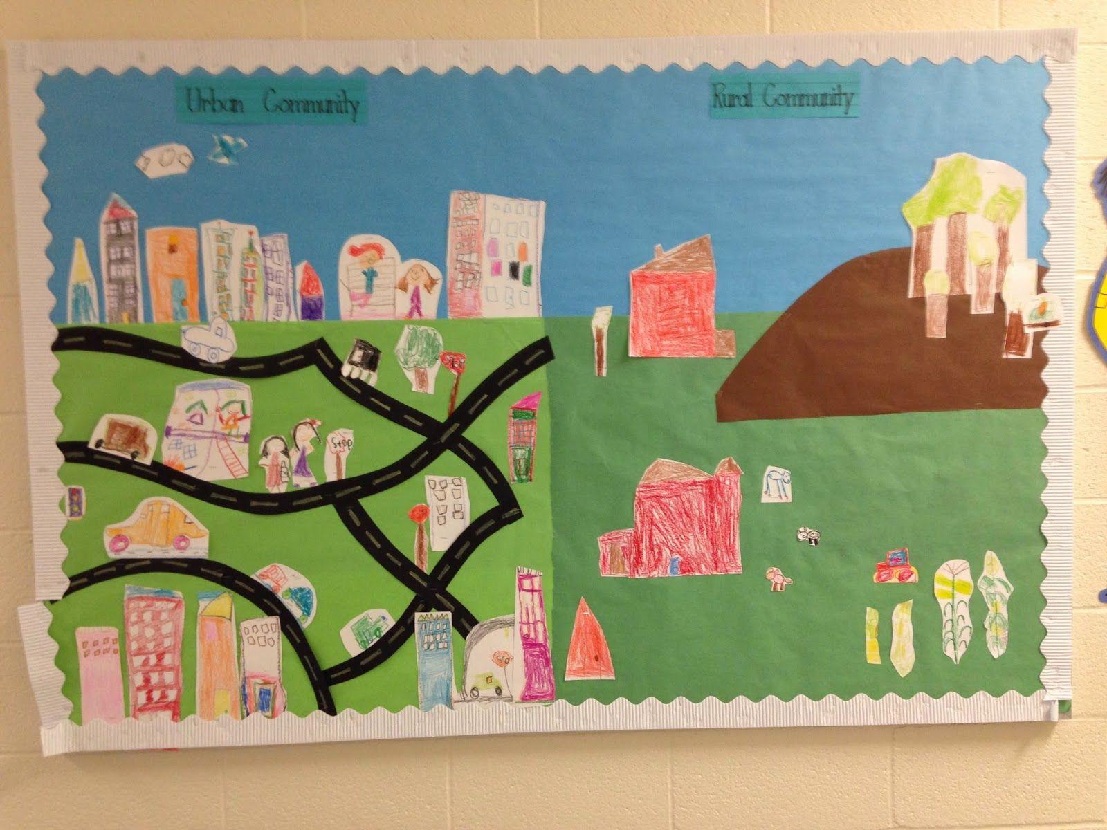Urban Vs Rural Communities From Little Miss Glamour Goes To Kindergarten