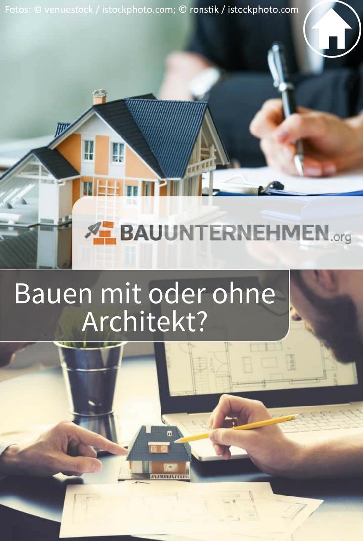 Vor- und Nachteile des Bauens mit Architekt; Architekt für ...