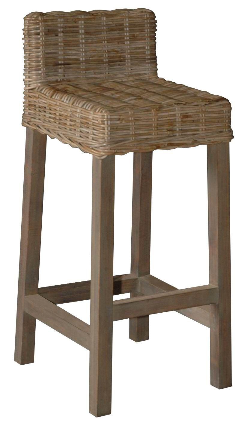 ORGANICS BAR & COUNTER STOOLS Wicker bar stools, Wicker