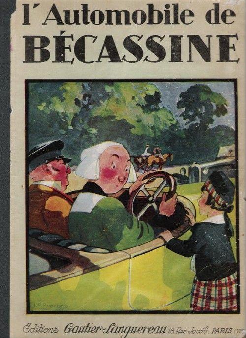 Becassine 14 L Automobile De Becassine Becassine Pochoir Papillon Image Pour Enfant