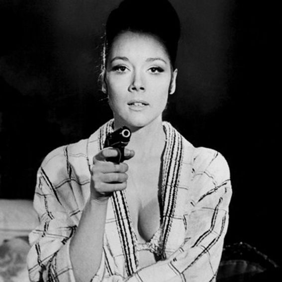 9+ Diana Rigg On Her Majesty's Secret Service