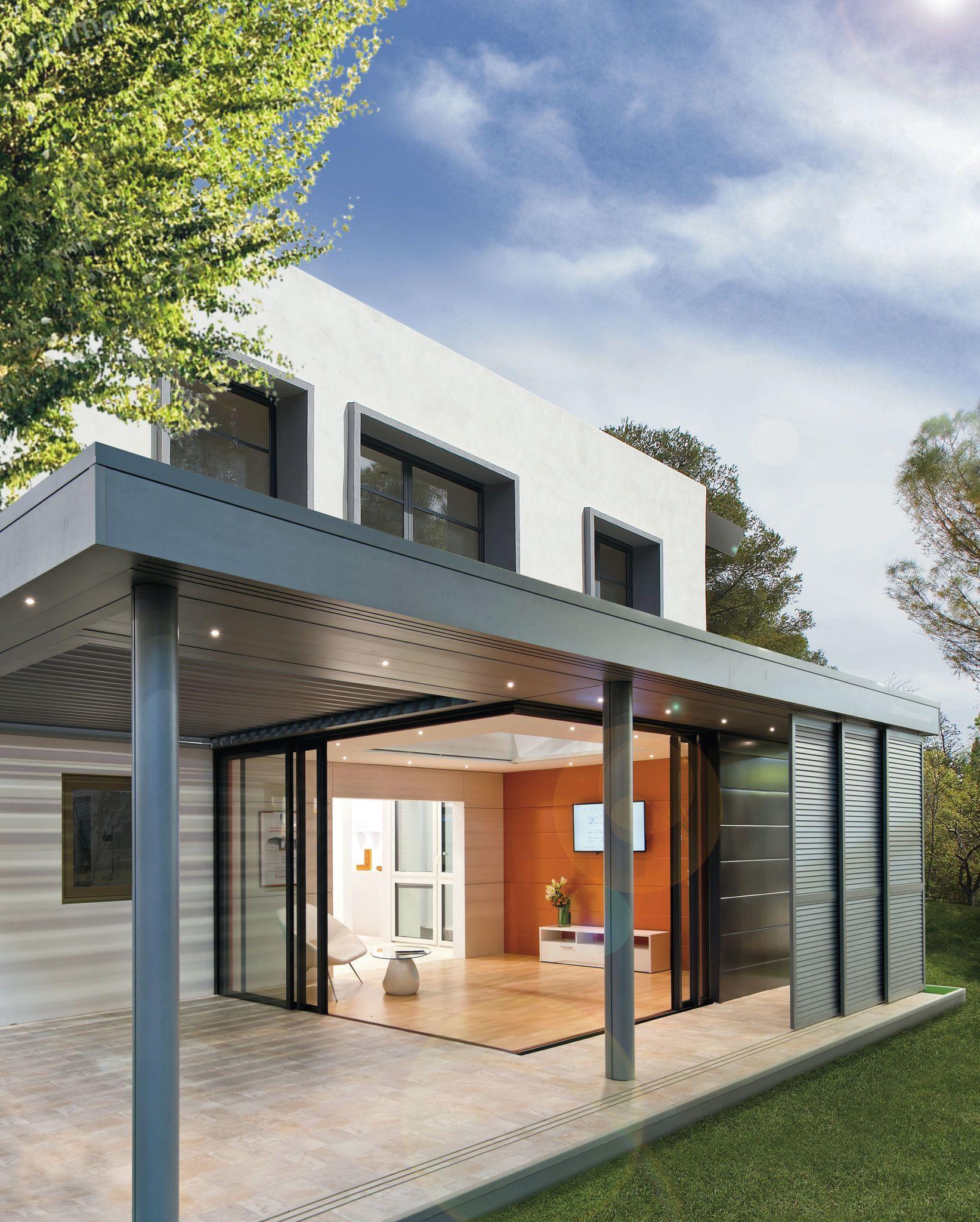 Extension Maison Terrasse Couverte extension maison : 9 vérandas esthétiques et lumineuses