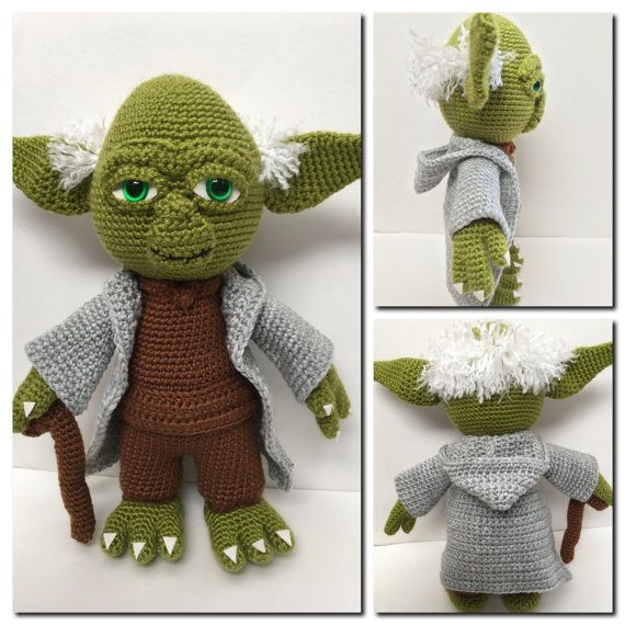 Love To Crochet Do You This Yoda Pattern Is Perfect For Any Star