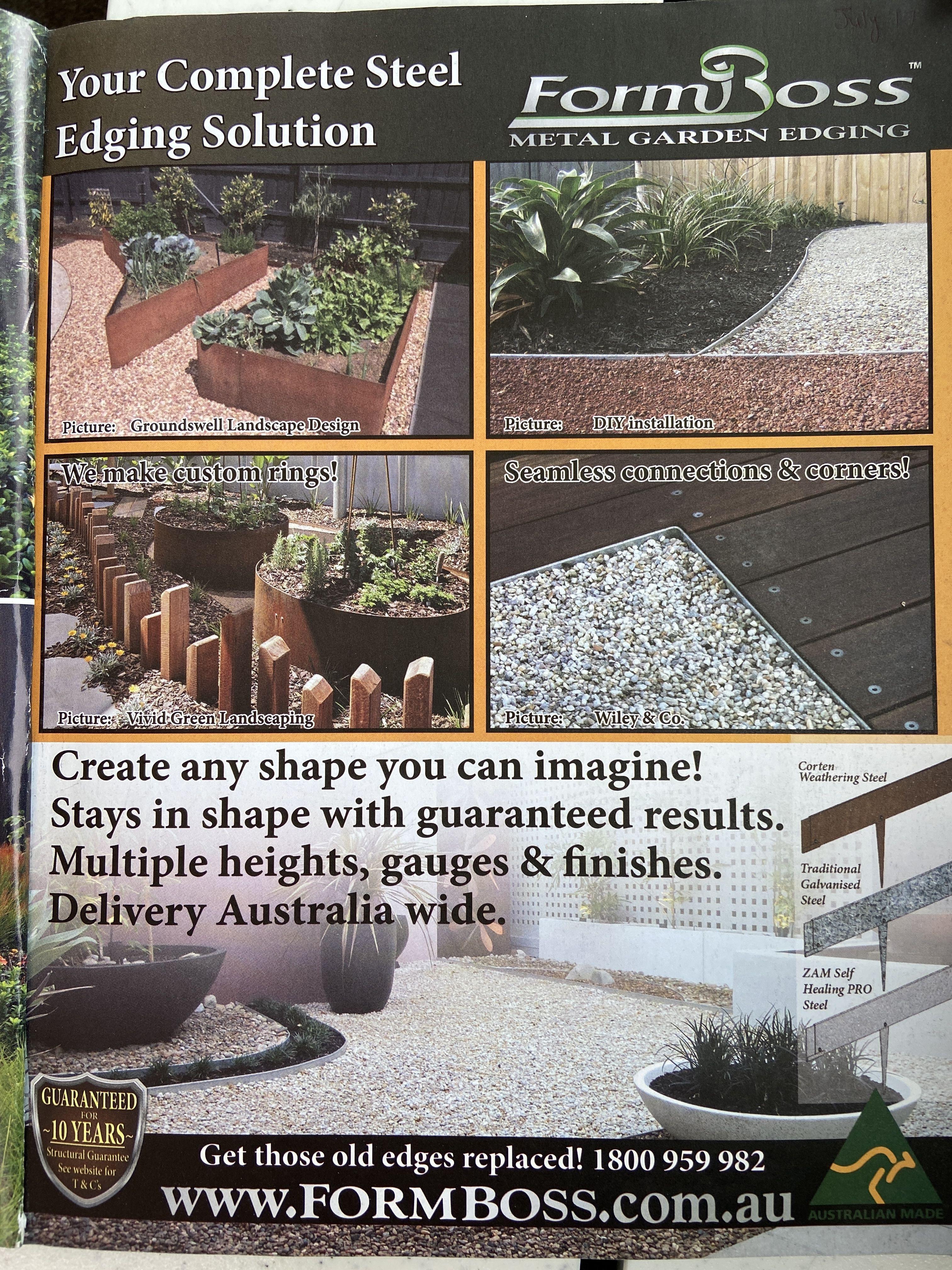 Garden edging in 2020 Garden edging, Metal garden edging
