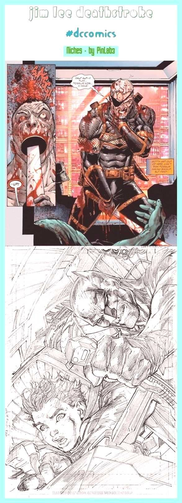 Jim Lee Deathstroke jim lee art, jim lee sketch, jim lee joker, ...You can find Deathstroke and mor