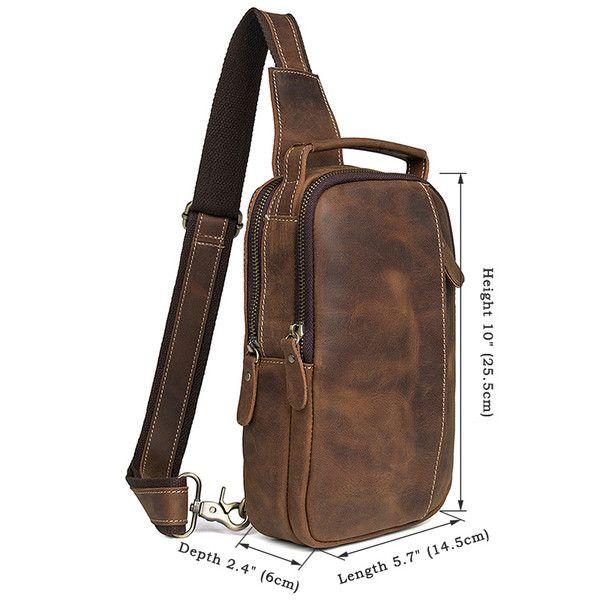 Messenger Bag Shoulder Bags Travel Shoulder Backpack Crossbody Chest Waist Bag Letter Rucksack Bicycle Outdoor Sport Bag Vintage Cavans Pack Purse Laptop Bags for Men Women Work Business