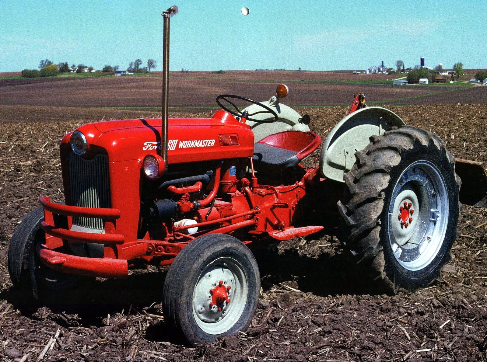 Alma Tractor Equipment Online Parts For Ford 601