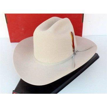 f9b1d13907d45 Stetson Cowboy Hat 4X Beaver Fur Felt Rancher Silverbel