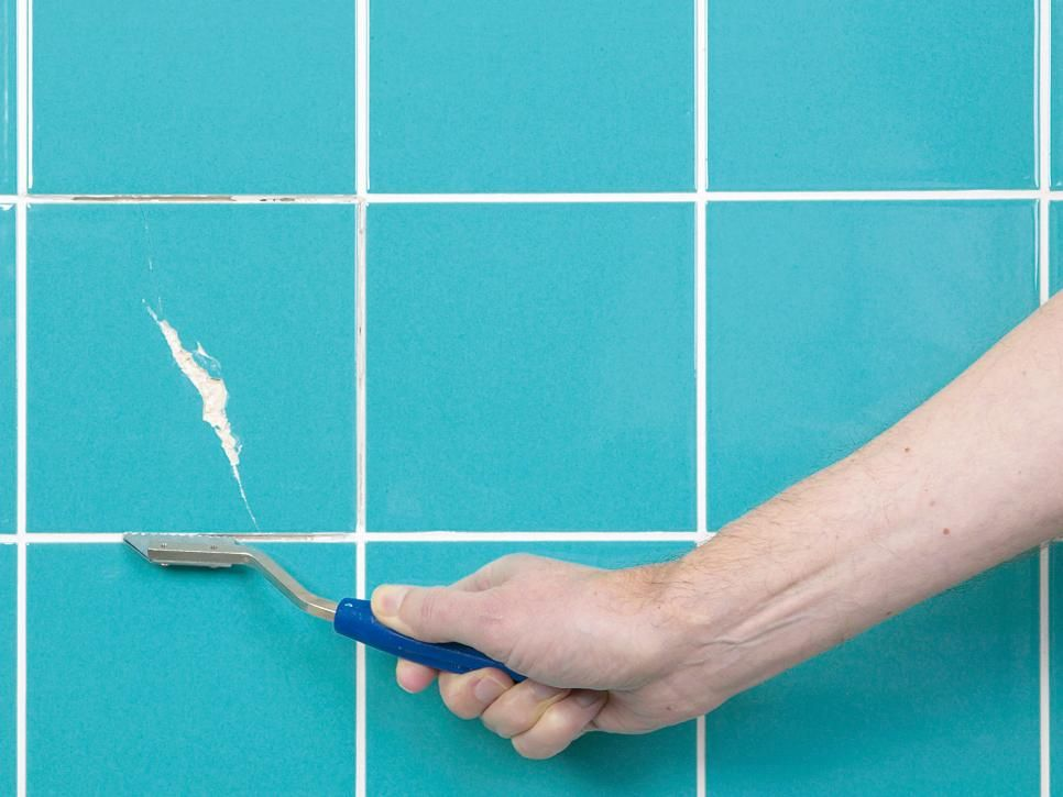 How To Fix Broken Wall Tile And How To Regrout Shower Cubicles - How to fix broken bathroom tile